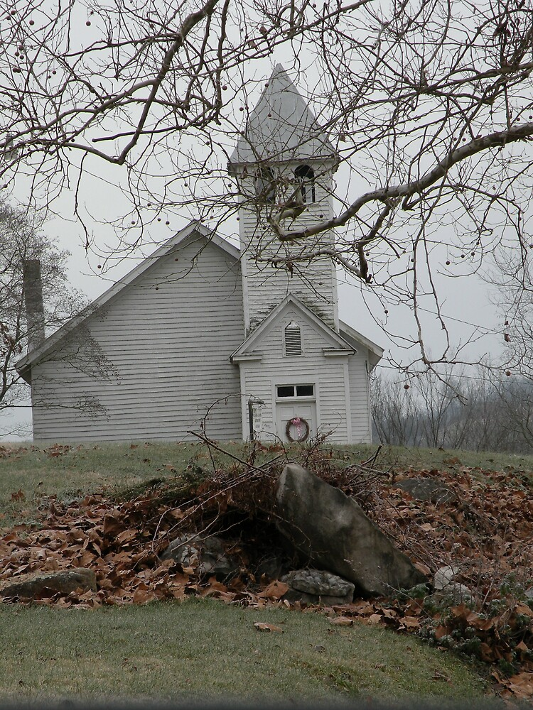 Country Church In Virginia by Nokie