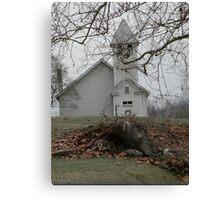 Country Church In Virginia Canvas Print