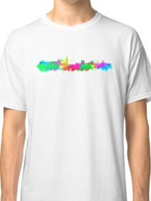 Dublin Skyline in water colours Classic T-Shirt