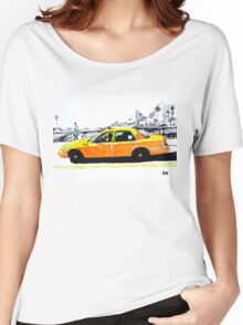 Taxi. Women's Relaxed Fit T-Shirt