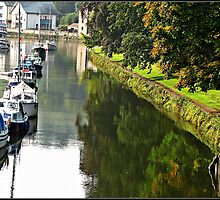 """""""The  River Dart at Totnes"""" by mrcoradour"""
