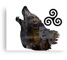 Teen Wolf Howl Canvas Print