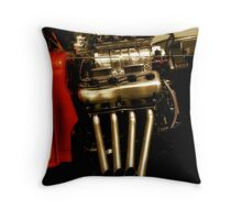 she's stacked Throw Pillow