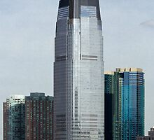 Goldman Sachs Tower, New Jersey, USA by jmhdezhdez