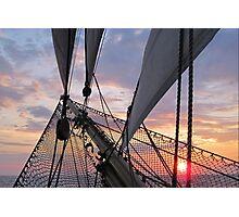 Evening Light on the Bowsprit Photographic Print