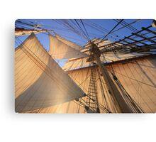 Morning Sails Canvas Print