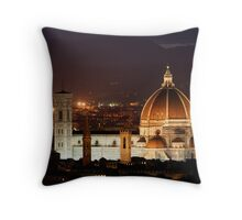 Santa Maria del Fiore Throw Pillow