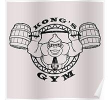 Kong's Gym Poster