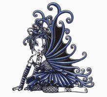 Blue Gothic Fairy  by Myka Jelina