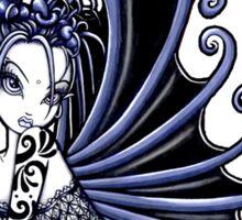 Blue Gothic Fairy  Sticker