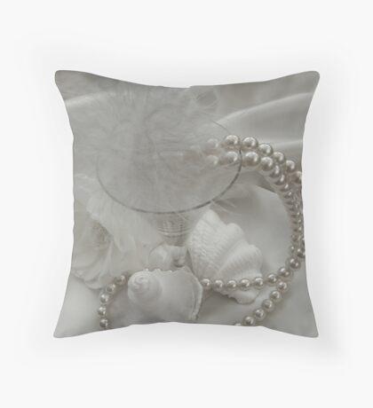 Pearly Whites Throw Pillow