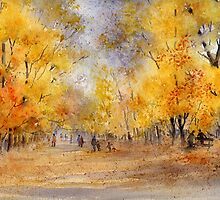 Autumn in the Park by artbyrachel