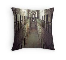 accelerated decrepitude Throw Pillow
