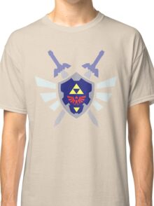 The hero of time, Link's shield Classic T-Shirt