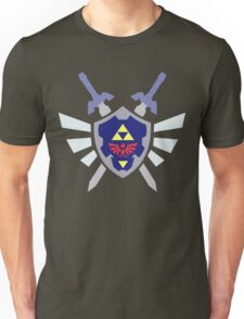 The hero of time, Link's shield Unisex T-Shirt