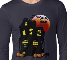 Halloween Mansion Long Sleeve T-Shirt