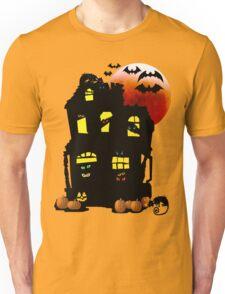 Halloween Mansion Unisex T-Shirt