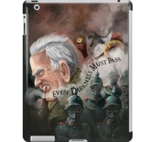 """Even Darkness Must Pass"" ~J.R.R Tolkien iPad Case/Skin"