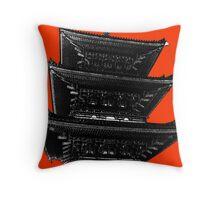 Japan Noir 2 Throw Pillow
