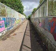 The Graffiti Crossing by tomcornwallis
