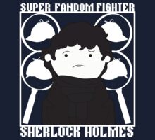 Super Fandom Fighter - Sherlock by Mariofan34