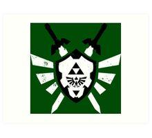Link's Chaos - Legend of Zelda Art Print