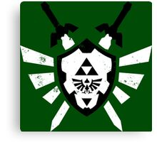 Link's Chaos - Legend of Zelda Canvas Print