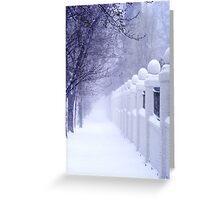 Spring Snowstorm Greeting Card