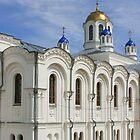 Monastery near Serafimovich, Russia by Sofia Solomennikova