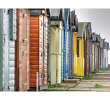 Brightlingsea beach huts Photographic Print