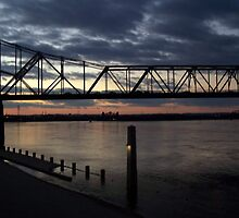 Bridge Over Ohio River by debbiedoda
