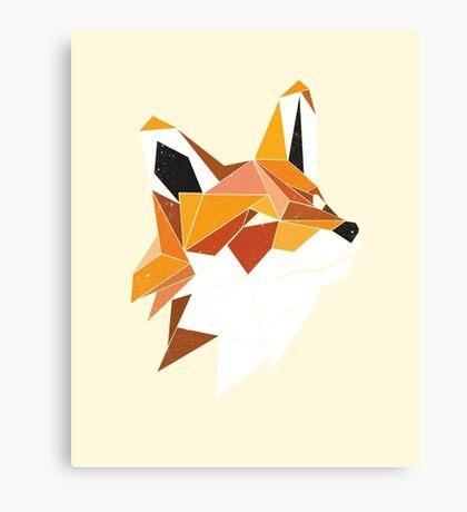 Faux Renard Canvas Print