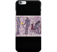 Looking Back iPhone Case/Skin