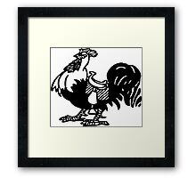Want a Big Black Cock Ride? Framed Print