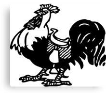 Want a Big Black Cock Ride? Canvas Print