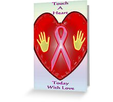 Breast Cancer Awareness (October Month) Greeting Card