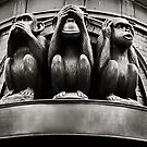 hear no evil, see no evil, speak no evil... by Natalia Campbell