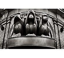 hear no evil, see no evil, speak no evil... Photographic Print