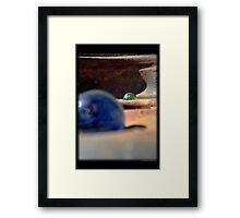 Loosing My Marbles, Gladiators of Mars Framed Print