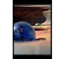 Loosing My Marbles, Gladiators of Mars Photographic Print