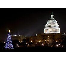 Washington DC - US Capitol Building Photographic Print