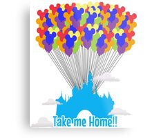 Take me Home!! Metal Print
