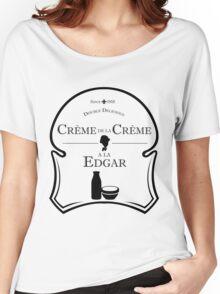 Crème de la Crème a la Edgar V.2 Women's Relaxed Fit T-Shirt