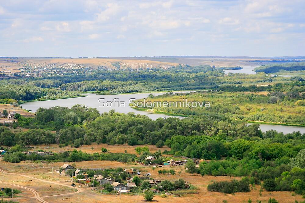 The Don River Overview by Sofia Solomennikova