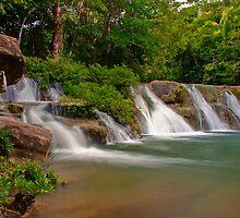 San Antonio Waterfalls by Karel Kuran