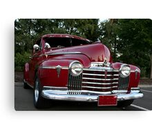 Classic Red Canvas Print