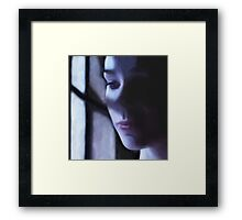 Moon Shadow Framed Print