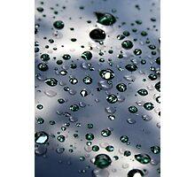 Raindrops On My Windshield Photographic Print