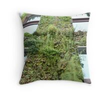 Vertical Garden II Throw Pillow