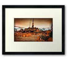 Lantern Sale Framed Print